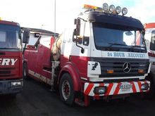 MERCEDES 1834 Heavy Recovery Tr