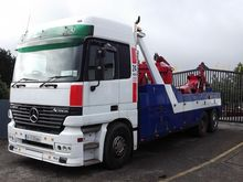 Mercedes Actros Heavy Tow Truck