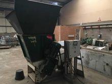 Single shaft shredder, biomass,