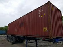40 ft High Container 9.5 ft Ver