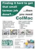 ColMac - Cold Bagged Tar