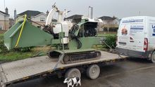Used Wood chipper in