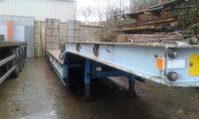 Chieftain 3 axle semi low loade