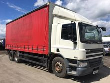2005 Daf 75CF 310 6x2 Curtainsi