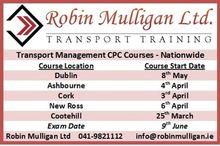 Transport Management CPC Course