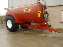 NC 2500 Gallon Vacuum Slurry Ta