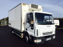 IVECO 75E18 17FT CHASSIS CAB
