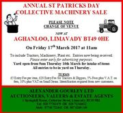 ANNUAL ST PATRICKS DAY  AUCTION