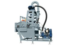 Compact Cyclone Sand Plant 100T