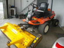 Kubota F3060 diesel mower with