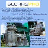 Slurry Pumps for sand & gravel