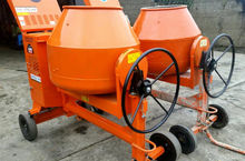 large diesel cement mixers dubl