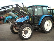 Newholland 6635 With Trima Load