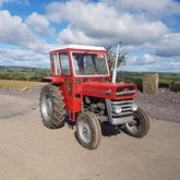 Massey Ferguson 135 with Duncan