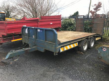UNRESERVED Double Axle Low Load