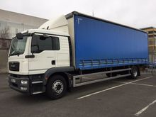MAN TGM 18.250 Curtainside Daf