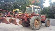 Fiat 880 and skjold plough
