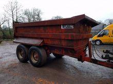 16 ton Dump Trailer on springs