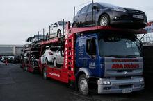 Renault Magnum Cars Transporter