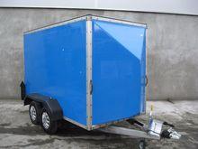 Used  10' x 5' x 6 Box Van Inde
