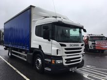 SCANIA P250 4X2 CURTAINSIDER