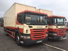 09 SCANIA P230 25FT DEMOUNTABLE