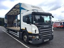 SCANIA P230 30FT CURTAINSIDER