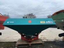 Fertiliser spreader sower