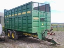 Used Silage trailer