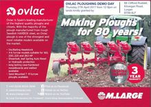 OVLAC PLOUGH DEMO DAY