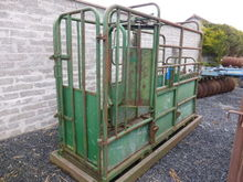 Portable Weigher Cattle Crush