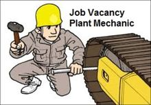 Wanted Experienced Plant Fitter
