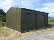 Steel shed 30f X 20f