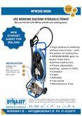 Hydraulic Driven - High pressur
