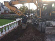 Wheeled Excavator/Tiltrotator F