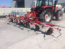 JF Stoll 6 rotor tedder very cl