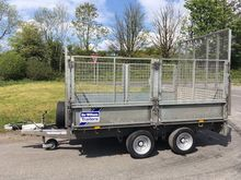 """Ifor Williams 10'x6'6"""" cage sid"""