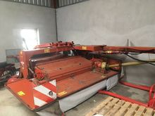8ft Kuhn mower with swather