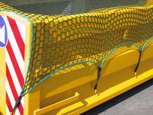 Trailer nets and skip nets made