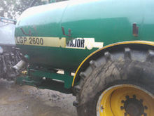 2,600 Gal Slurry Tanker for hir
