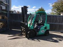 UNRESERVED Mitsubishi Forklift