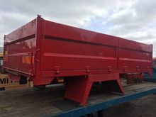 Dropside aluminium tipping body
