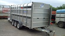 Ifor williams cattle trailer