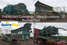 Powerscreen Commander Washing P