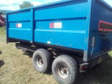 Marston 8ton grain trailer