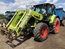 2014 Claas 550 with claas loade