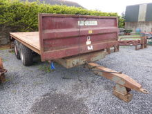 Marshall Low Loader Trailer