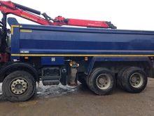 2014 DAF grab loader