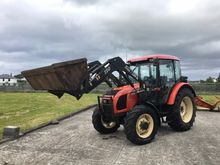 Zetor 7441 with Traclift front