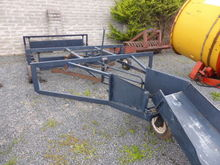 Cook Flat 8 Windrower bale Sled